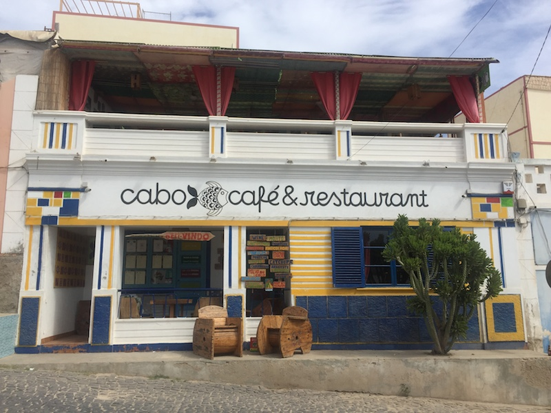 Cabo cafe & restaurant Кабо-Верде